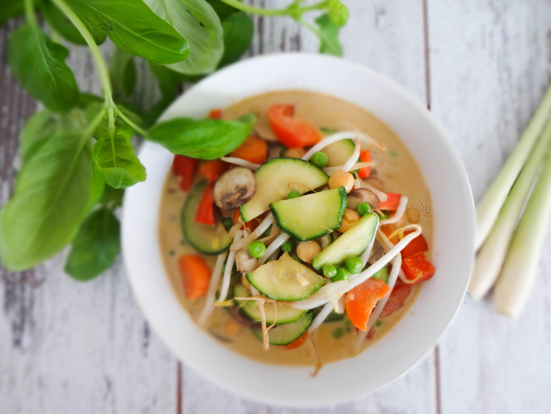 Thai Curry mit Zitronengras