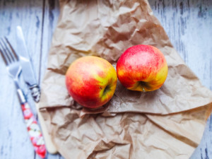 Rote Beete Apfel Müsli