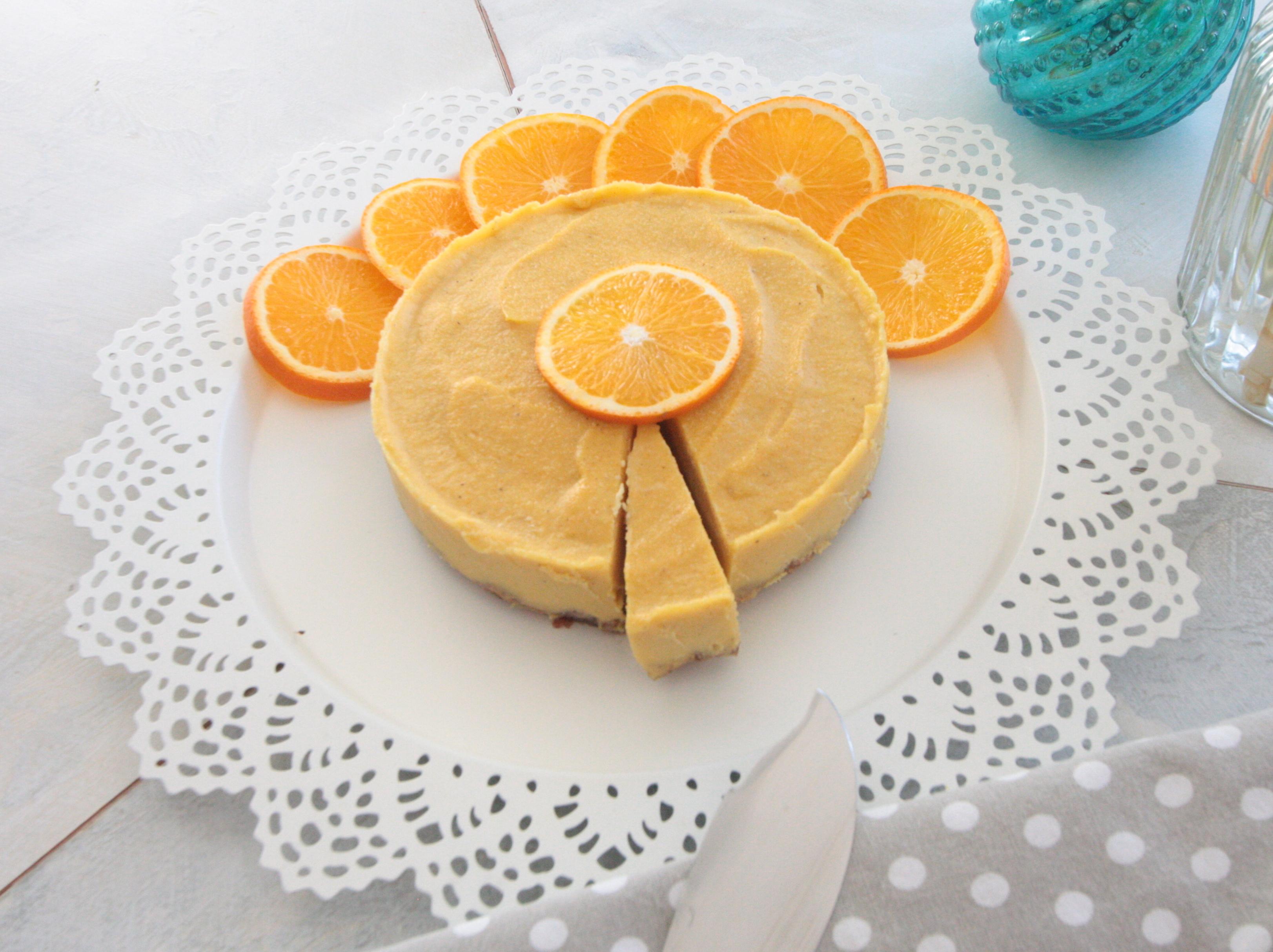 "Orangen ""Käsekuchen"""