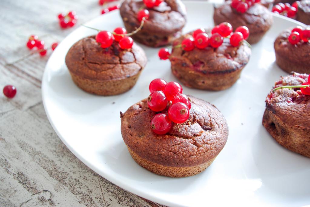 Johannisbeer-Bananen-Muffins