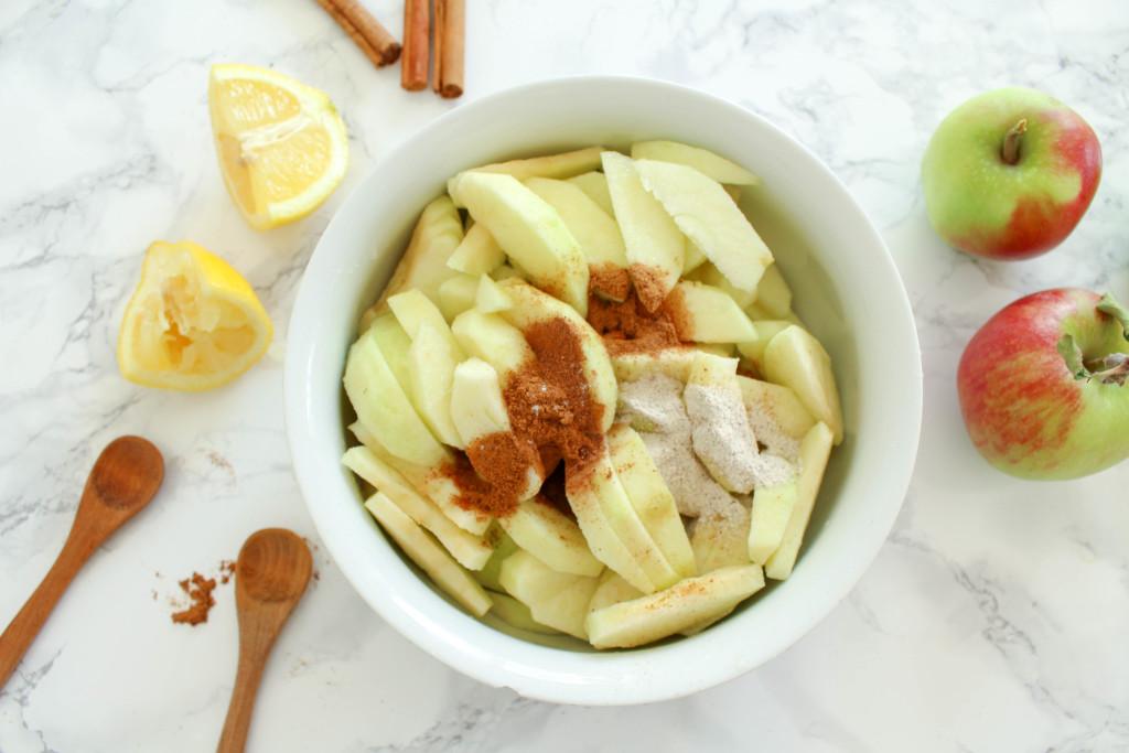 Der Beste Apfelkuchen - vegan, glutenfrei, ohne raffinierten Zucker