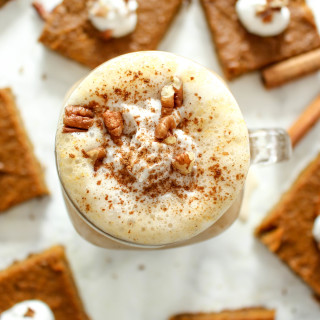 Pumpkin Spice Latte - vegan, glutenfrei, ohne raffinierten Zucker