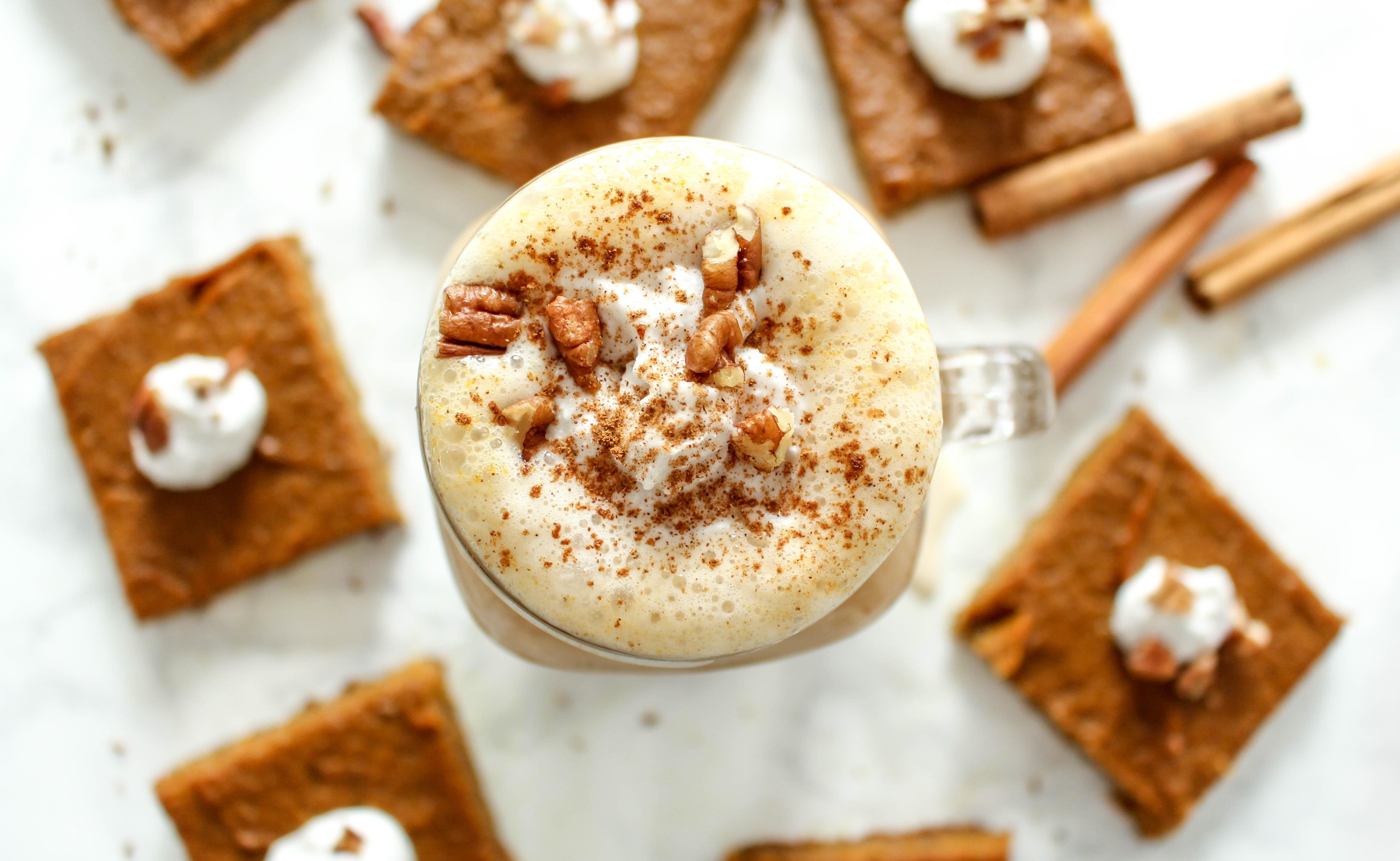 Gesunder Pumpkin Spice Latte
