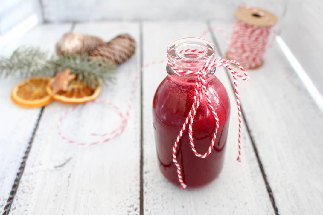 Rote Bete und Apfel Glühwein (Punsch)