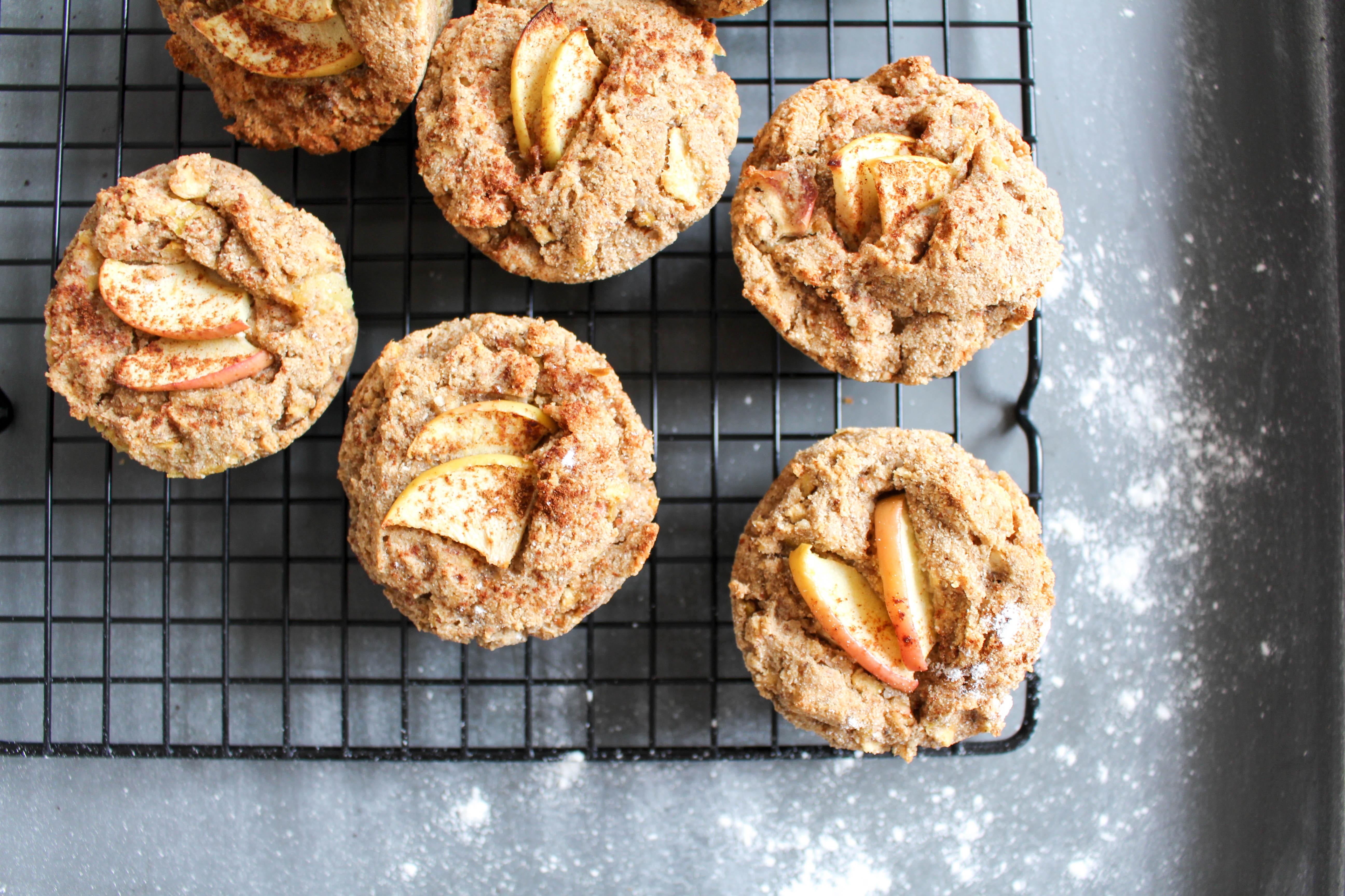 Gesunde Apfel-Zimt Muffins