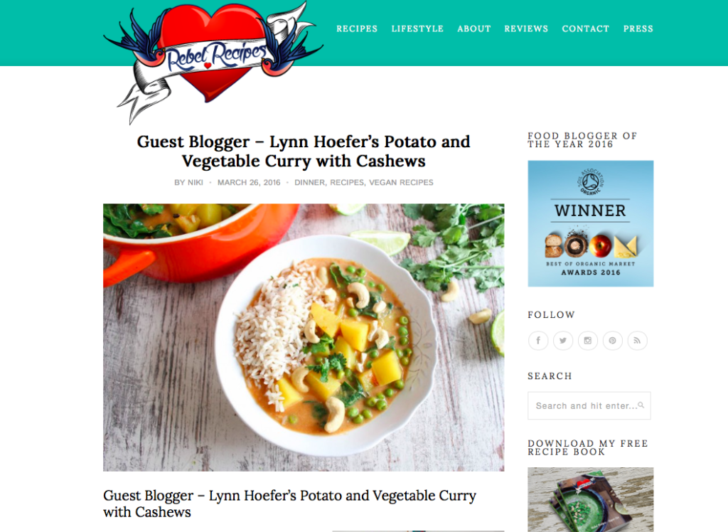 Heavenlynn Healthy Presse - Rebel Recipes