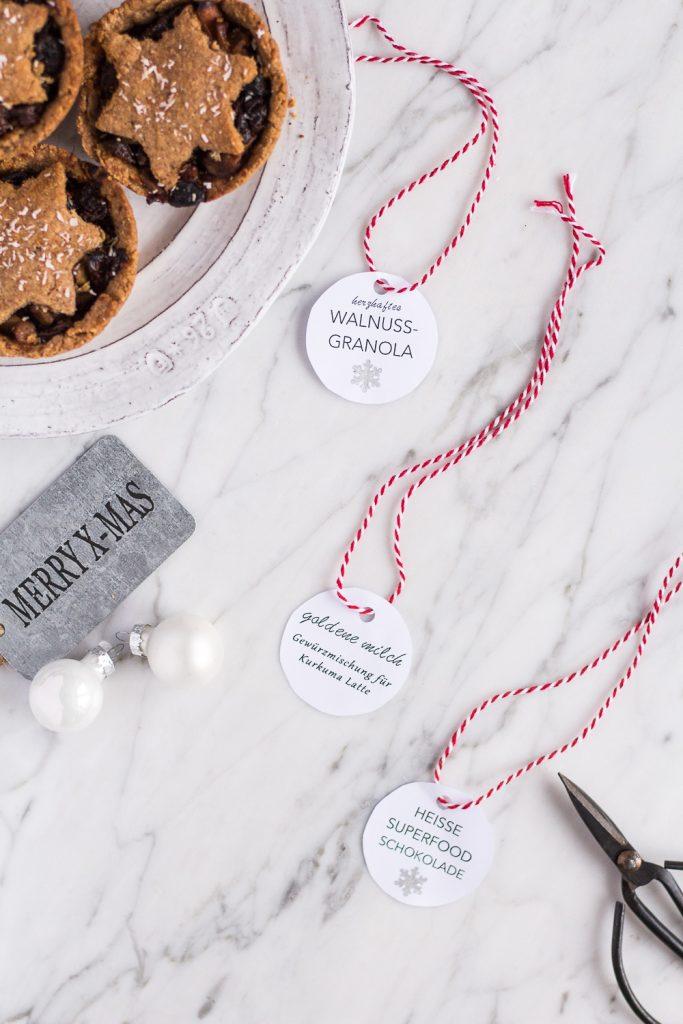 Essbare DIY-Geschenke (+Anhänger zum Ausdrucken!) - de.heavenlynnhealthy.com