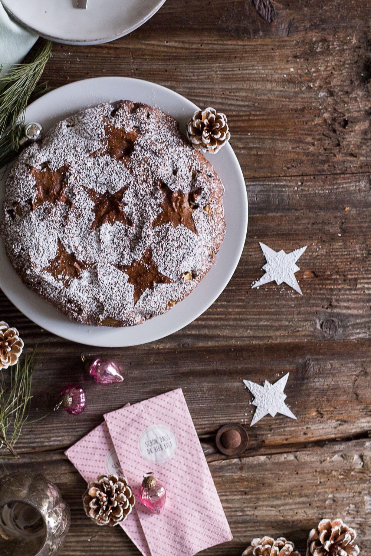 Gesunder Gewürzkuchen und ein Blogtipp zu Weihnachten