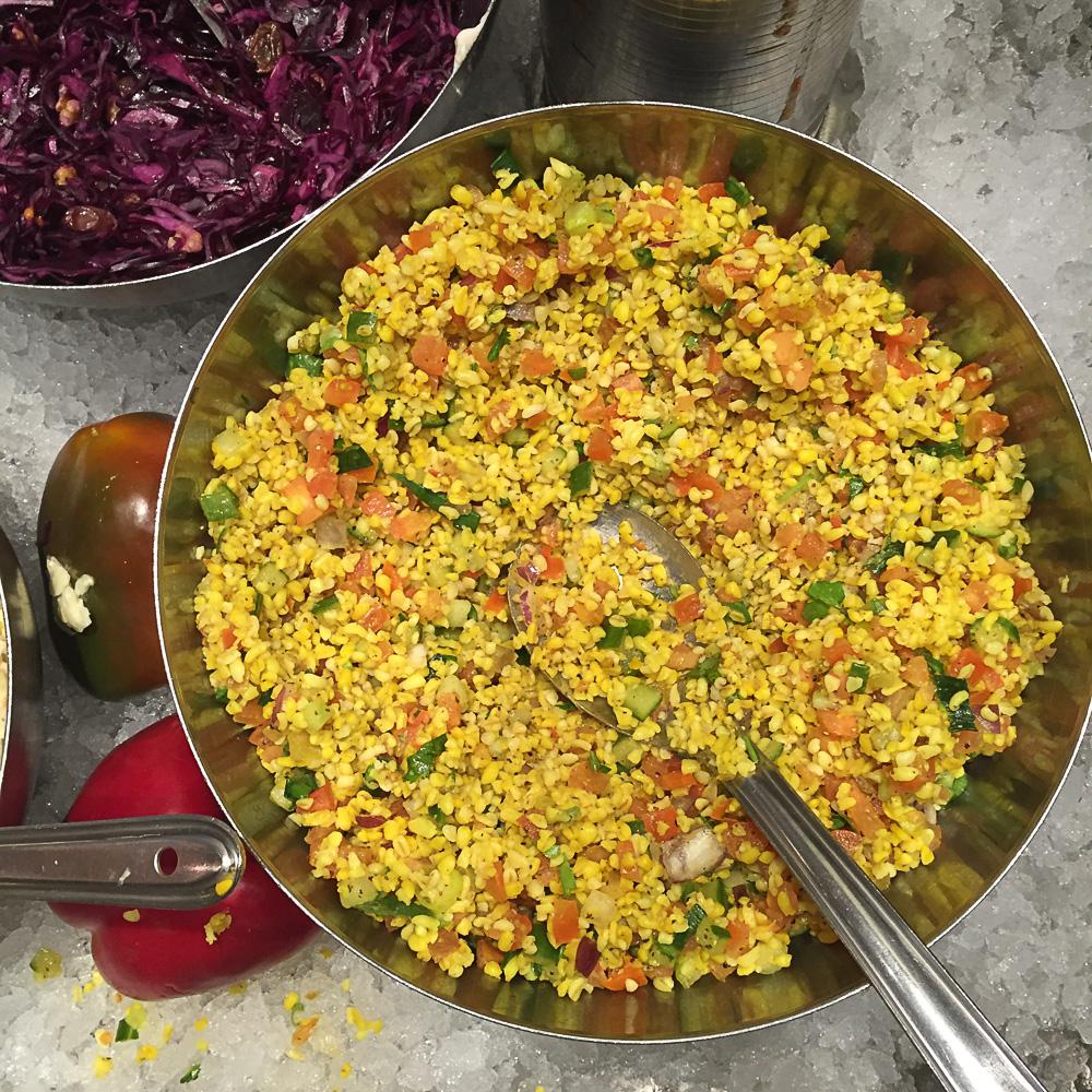 Hermans - das beste vegetarische Buffet in Stockholm - heavenlynnhealthy.com