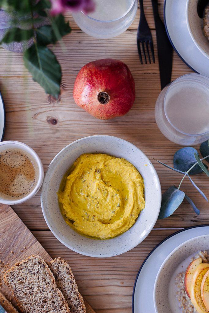 Kürbis-Hummus - rein pflanzlich, vegan, glutenfrei, ohne raffinierten Zucker - de.heavenlynnhealthy.com