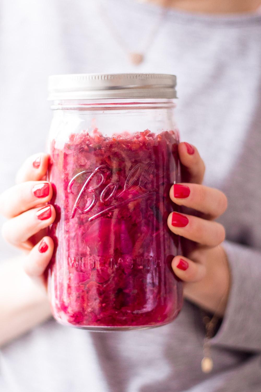 Gesundes Pinkes Kimchi