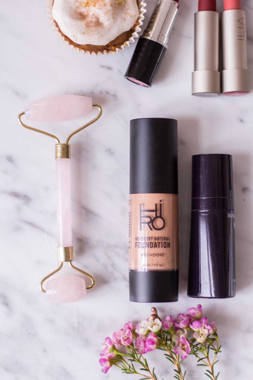 Natural Skincare - Ein Blick in meinen Make-Up Bag - heavenlynnhealthy.com