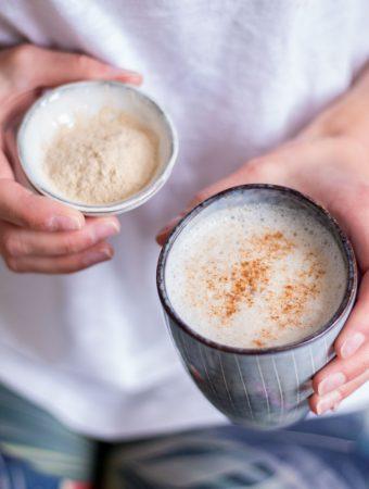 Hormonausgleichender Ashwagandha Latte & Adaptogene