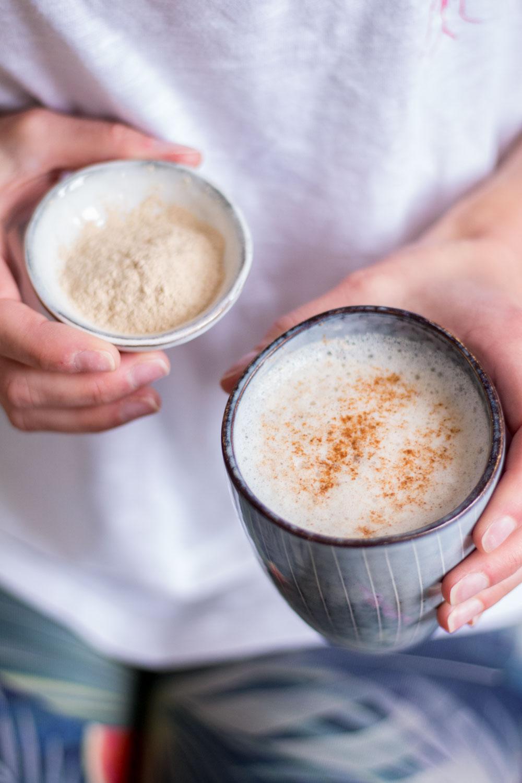 Hormonausgleichender Ashwagandha Latte