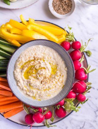 Zucchini Hummus – Finger Foods