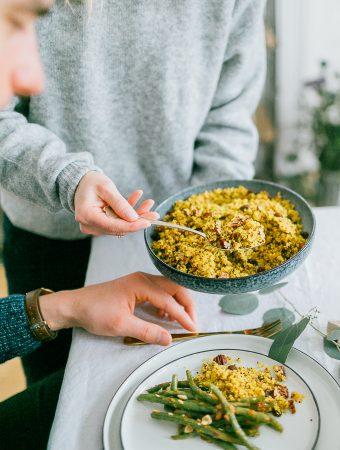 """Festliches-Quinoa-Rezept und Verlosung von """"Himmlisch Gesund"""""""