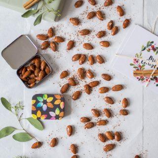 Weihnachtliche & gesündere gebrannte (karamellisierte) Mandeln - rein pflanzlich, vegan, glutenfrei, ohne raffinierten Zucker - de.heavenlynnhealthy.com