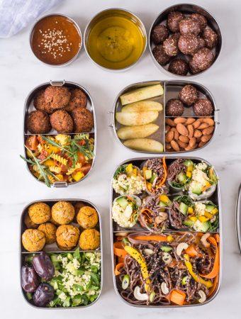 3 Ideen für gesunde Lunch-Boxen (Meal Prep)