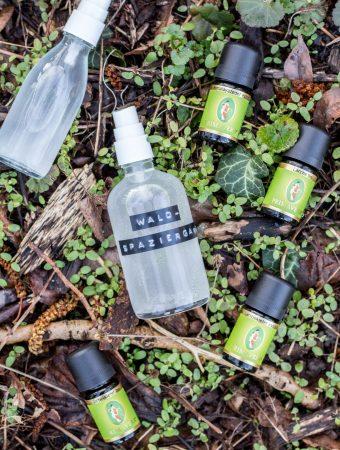 Selbst gemachte Raumsprays mit ätherischen Baumölen