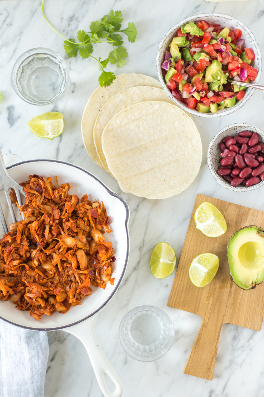 Jackfruit Tacos - – rein pflanzlich, vegan, glutenfrei, ohne raffinierten Zucker - de.heavenlynnhealthy.com