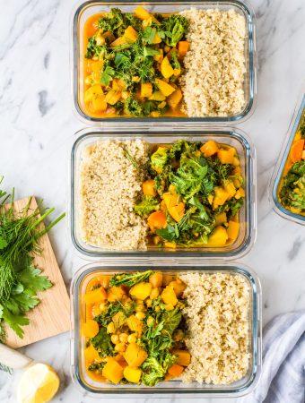 Meal Prep: gesunder Steckrübeneintopf