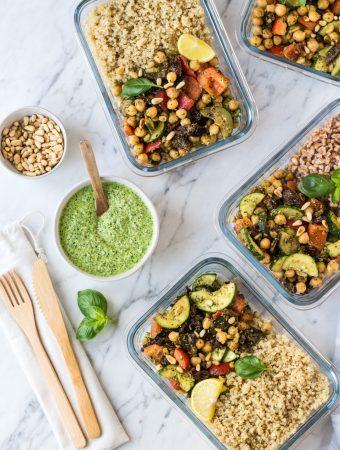 Gesunde Vorräte, die unser Immunsystem unterstützen & eine einfache Gemüsepfanne