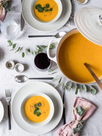 Altländer Apfelsuppe und ein Le Creuset-Giveaway