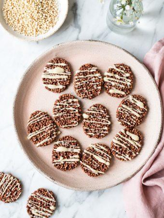Knusprige Ostereier mit Quinoa